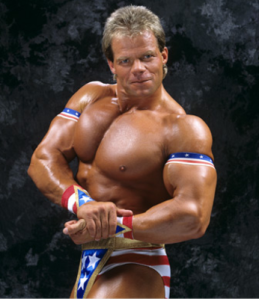 Astonishingly, Lex Luger admitted dabbling in steroids. Just dabbling though. He definitely wasn't eating bowls of them for breakfast.