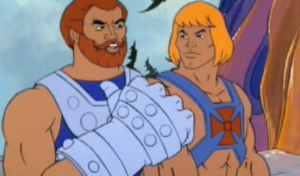 Fisto and He-Man. I'm not going to caption this.