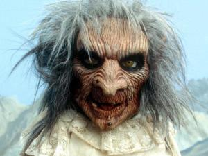 This is Zelda from Terrahawks, she eventually hit the big time playing the mother in The Osbournes.